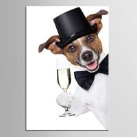 1-panel-holding-font-b-champagne-b-font-dog-cloth-oil-painting-fabric-painting-decorative-painting